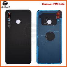 For Huawei P20 Lite Glass Battery Back Cover Rear Housing Repair Spare Parts + 3M Glue(China)