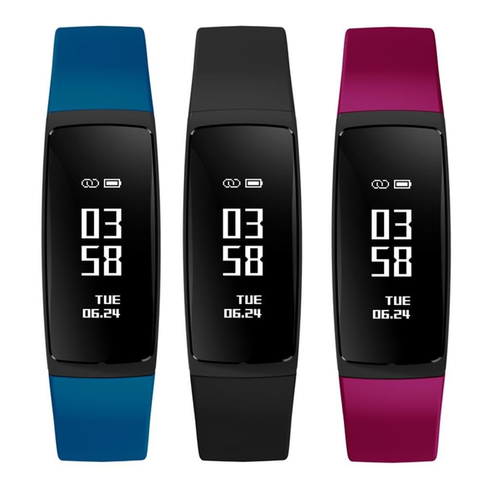 Newly V07S Slim Heart Rate Blood Pressure Monitor Call Reminder Smart Bracelet Watch Slim Heart Rate Blood Pressure Monitor