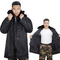 2019 Winter New Men's Cotton Jacket Fashion Thick Warm Coat Detachable Cold Cotton Clothing Large Size 3XL 4XL