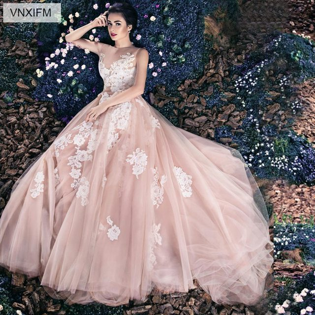 Vnxifm 2019 Fairytale Summer Wedding Dresses Sweetheart 3d