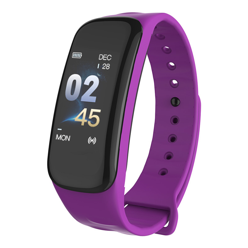 Mdnen Women And Men Smart Watch Sports Fitness Activity Heart Rate Tracker Blood Pressure Wristband Band Pedometer