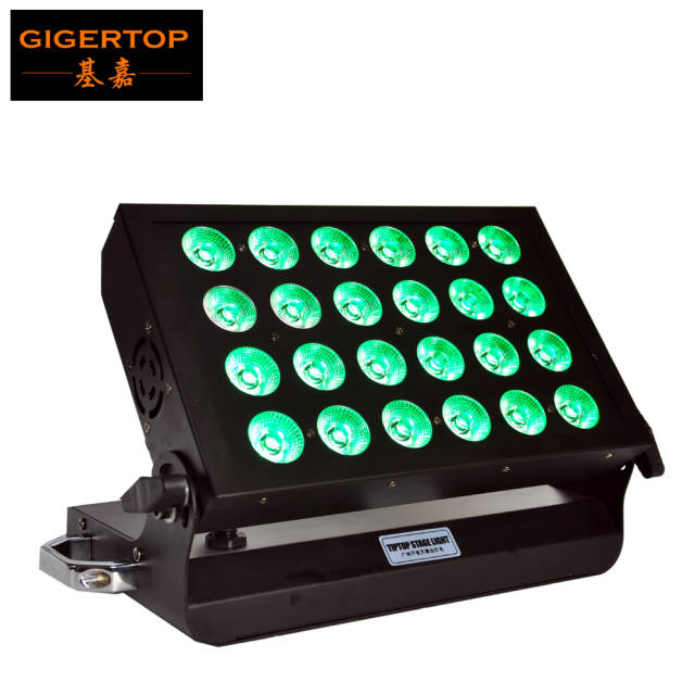 New Design 24 X 10w Rgbw Non Waterproof Stage Led Wall Washer Light Led Pixel Control Slim Board 02 04 06 10 16 48 50 Channels
