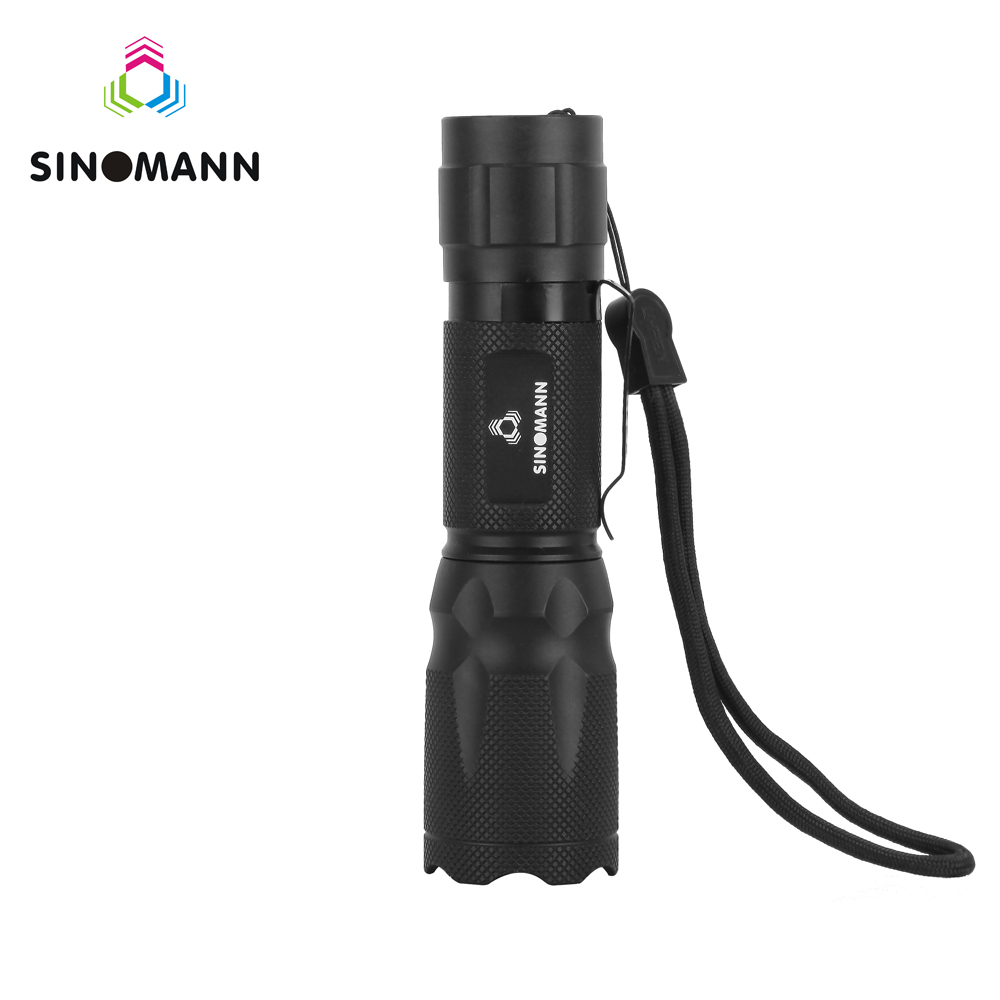T6 LED Flashlight 18650 zoom torch waterproof flashlights XM-L T6 3800LM 5 mode led Zoomable light For 3x AAA or 3.7v Battery 2622b led flashlight 18650 zoom torch waterproof flashlights xm l t6 3800lm 5 mode led zoomable light for 3x aaa or 3 7v battery