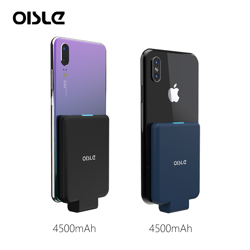 Portable Power Bank For IPhone Max Xs Battery Case For Huawei P30 P20 Pro Powerbank Charging Case For IPhone 6s 7 Plus X XS MAX