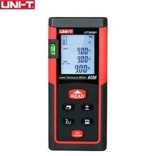 UNI-T Handheld Laser Distance Meter Rangefinders UT390B+ UT391+ Diastimeter Area/Volumn Pythagoras Theorem Automatic calibration