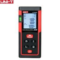 UNI T Handheld Laser Distance Meter Rangefinders UT390B+ UT391+ Diastimeter Area/Volumn Pythagoras Theorem Automatic calibration