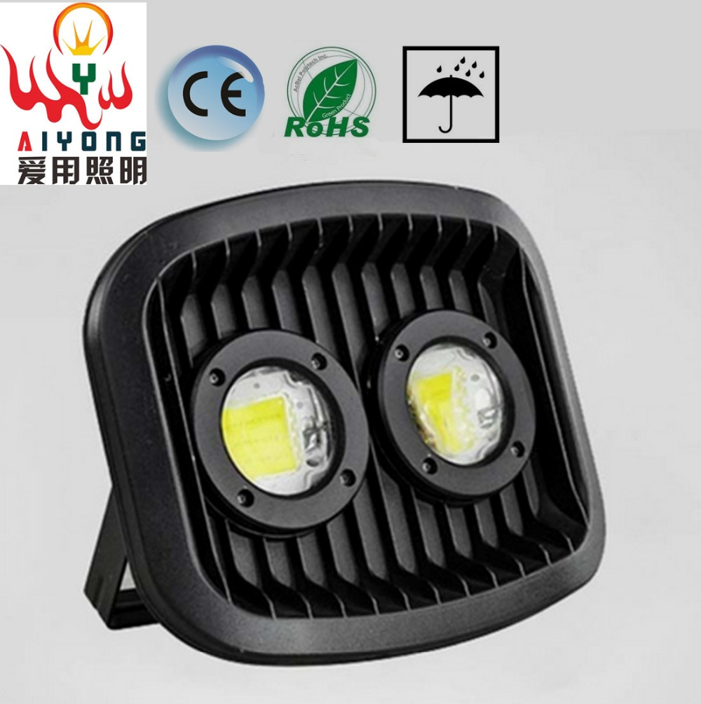 AC85--265V LED floodlights 30w60w100w integrated chip projection lamp waterproof outdoor advertising signs Spotlights