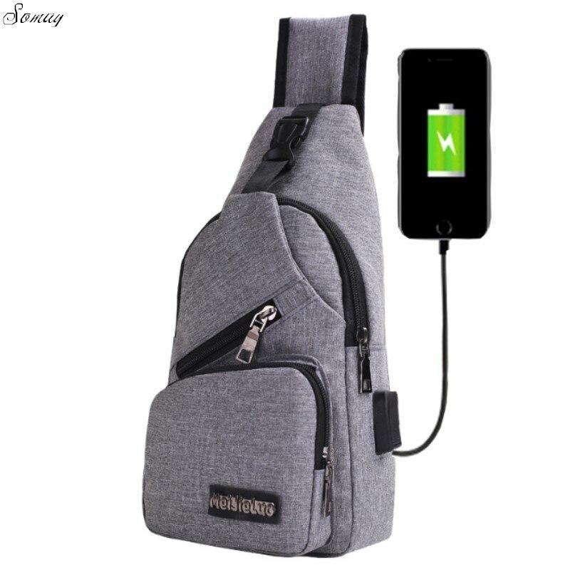 Для мужчин Back Pack груди пакет один рюкзак Англия груди Сумки сумка Креста тела Внешний USB Зарядное устройство рюкзак Обувь для мальчиков быст…
