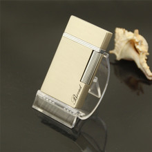 Windproof gas lighter, Metal gift lighters, Very thin and clear cigarette lighter,