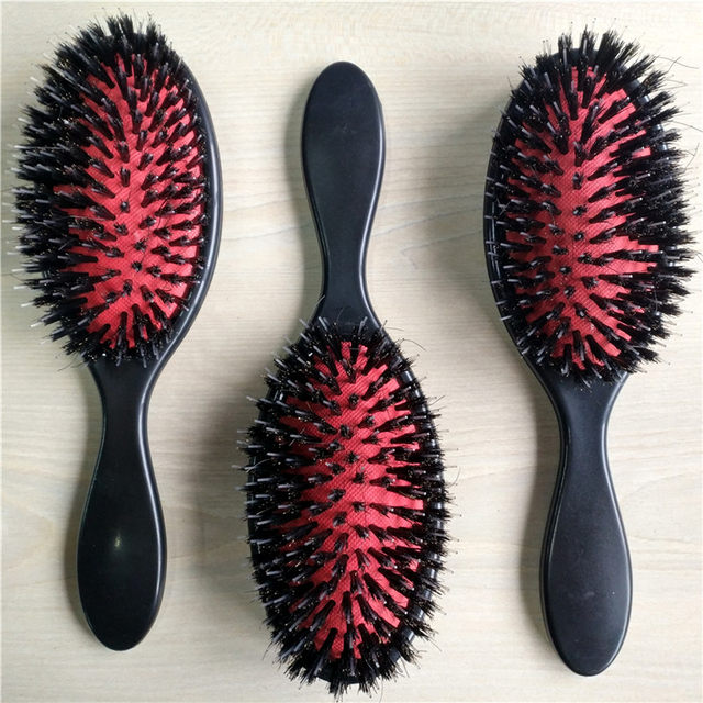 Online Shop 20pcs Loop Brush Hair Brushcomb Black Red Color For
