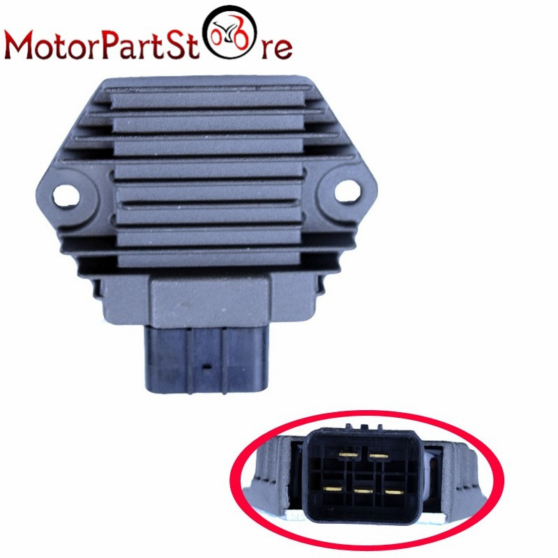 Voltage Regulator Rectifier for <font><b>Honda</b></font> <font><b>TRX</b></font> 450 S/ES <font><b>Foreman</b></font> 98-01 / TRX350 TE Rancher ES 2000-2006 / <font><b>TRX</b></font> <font><b>400</b></font> FW <font><b>Foreman</b></font> 95-03 D10 image