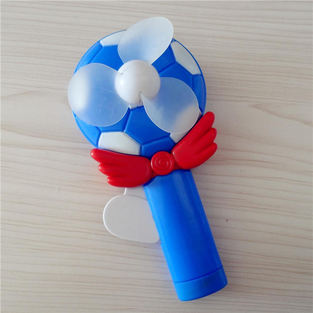 Home Orderly Summer Creative Hand Pressure Fan Portable Manual Fan Childrens Toys Baby Birthday Gift