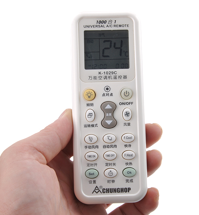 Universal Air Conditioner Remote Control General Changhong