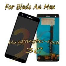 5.5 New Preto Para ZTE Lâmina A6 Max DIsplay LCD Completa + Touch Screen Digitador Assembléia 100% Testado Com rastreamento