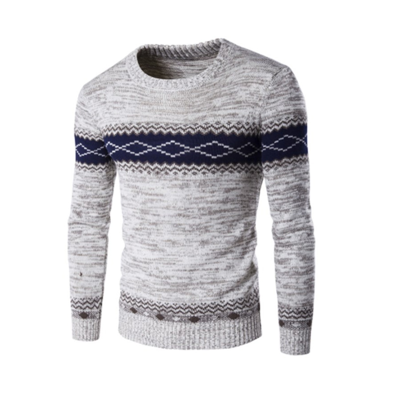 Sweater Men 2019 Brand Pullovers Casual Sweater Male O-Neck  Simple Slim Fit Knitting Mens Sweaters Man Pullover Men S