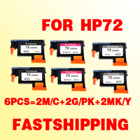 2set For Hp 72 Printhead For Hp72 Designjet T610 T620 T770 T790 T1100 C9383A C9380A C9384A