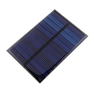 Image 3 - 6V 0.6W Panel słoneczny Panel na energię słoneczną Poly moduł DIY mała ładowarka telefonu komórkowego na lekki telefon zabawka przenośna Drop Shipping