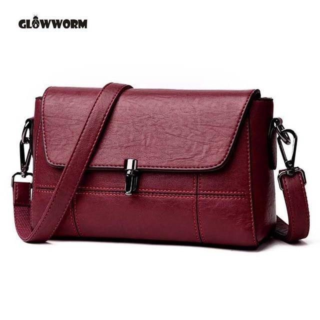 d7fe0f9fb45d 2018 Women Bag Fashion Sheepskin Leather Designer Handbags High Quality  Ladies Bags Famous Shoulder Bag New Sac Feminina