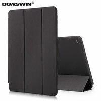 DOWSWIN Cases For Ipad 6 Ipad Air 2 Pu Leather Smart Tri Fold Cover Wake Up