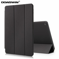 DOWSWIN Cases For Ipad 6 Ipad Air 2 Pu Leather Smart Tri Fold Cover Wake Up