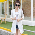 Summer new Slim long section of thin section air-conditioned shirt sun protection clothing women windbreaker jacket