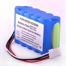 3700mAH New Electrocardiogram machine battery for NIHON KOHDEN bsm-2300 10HR-4/3FAUC-NK BSM-2301A BSM-2304A