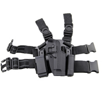 Blackhawk CQC Hunting Airsoft Tactical Holster Pistol Gun Drop Leg Double Magazine Pouch Gun Holster Thigh