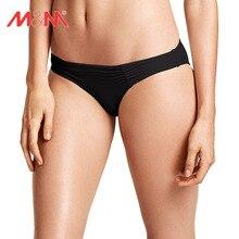 M&M 12 Colors! Bikini Bottom Low Waist Brazilian Sexy Two-Piece Separates Swimwear Swim Briefs Women Bathing Suit Bikini Bottoms