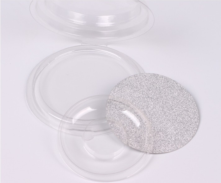 20set/lot Packing box for eyelash blank eyelashes plastic package all transparent lid tray Magnet Eyelashes DIY soft packing box(China)
