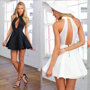 Casual Backless Dresses
