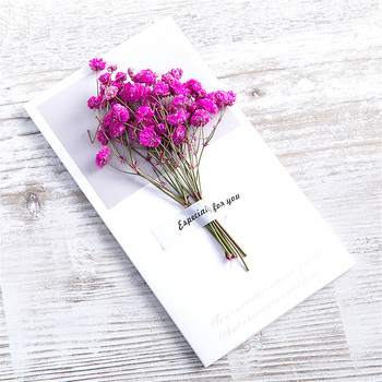 1pcs Kraft Dried Flowers Paper Envelopes Craft European Style Envelope For Card Mail Shipping Supplies Scrapbooking Gift 1
