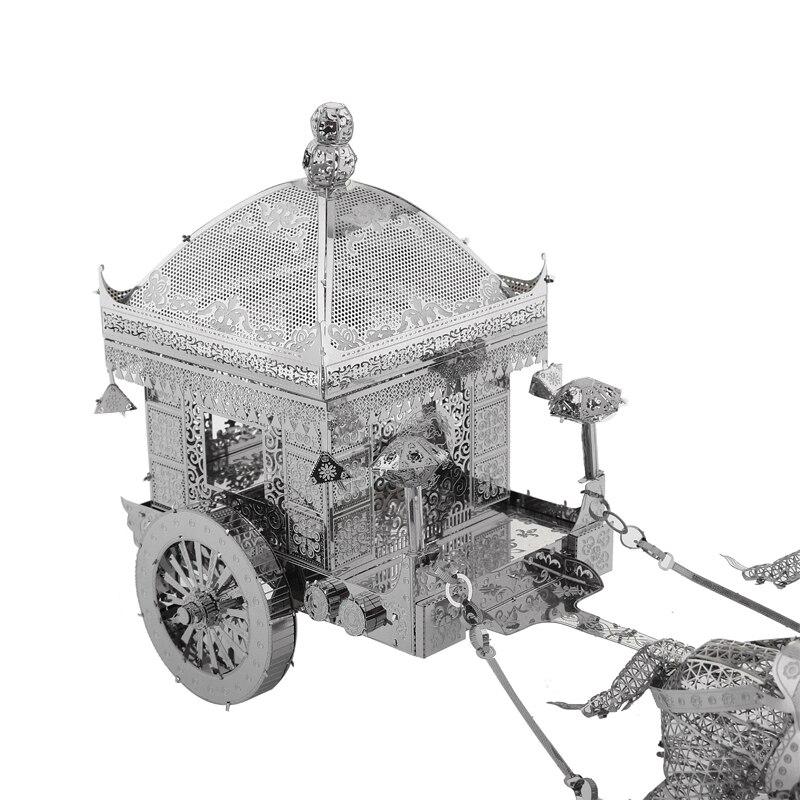 3D Metal Model Puzzles მრავალ სტილის DIY - ფაზლები - ფოტო 4