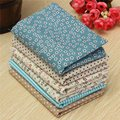 6pcs New Colorful Flower Floral Cotton Fabric Fat Quarter Bundle Diy Cloth Sewing Craft Home Textile Fabric Patchwork Quilting