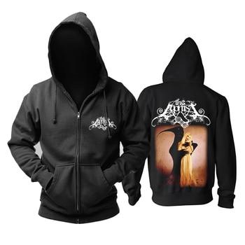 Bloodhoof  THE AGONIST death metal melodic metal  black hoodie  Asian Size
