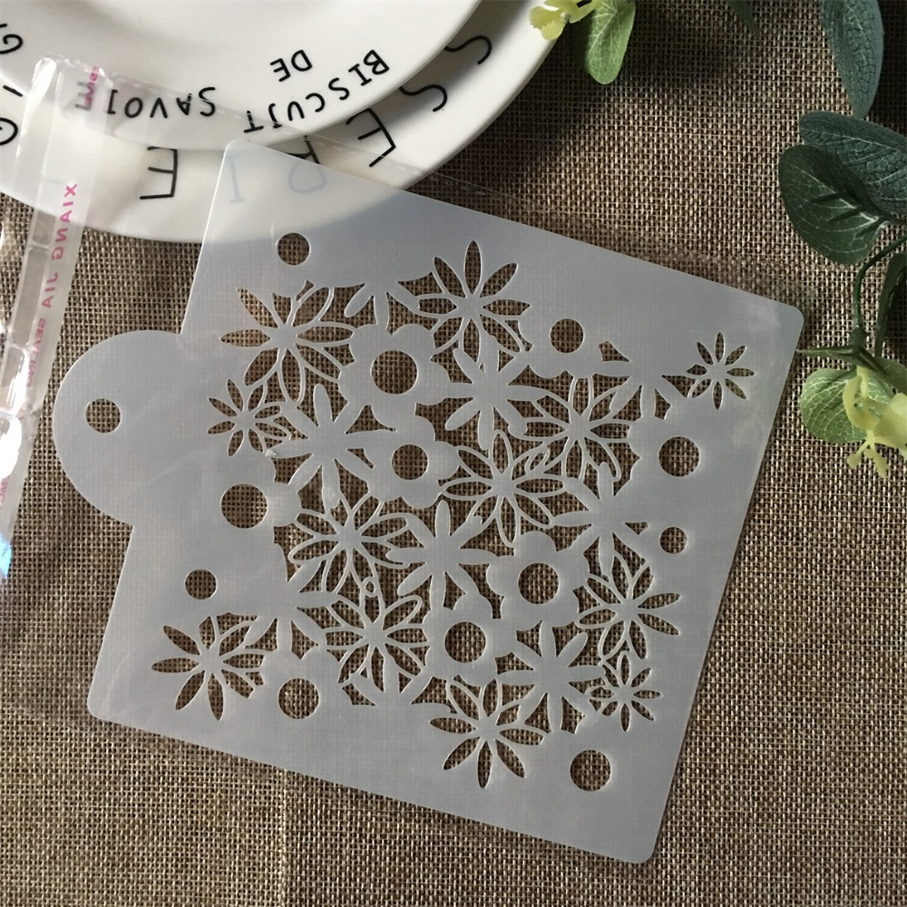 Hot 15cm Daisy Flower DIY Layering Stencils Painting Scrapbook Coloring Embossing Album Decorative Card Template