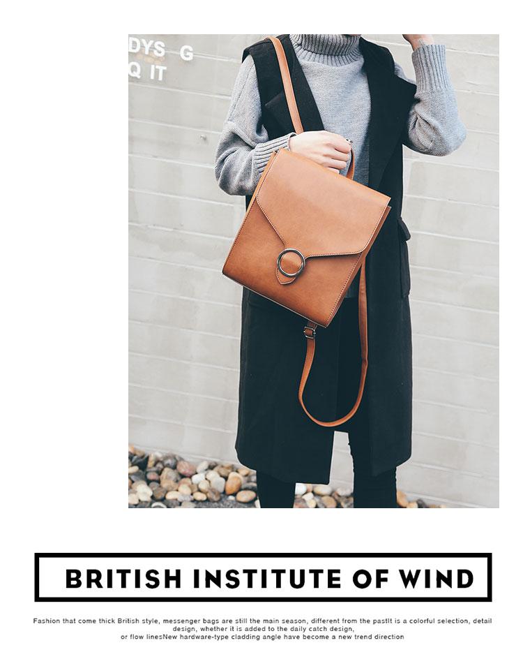 Retro Women's Rucksack Bag 20
