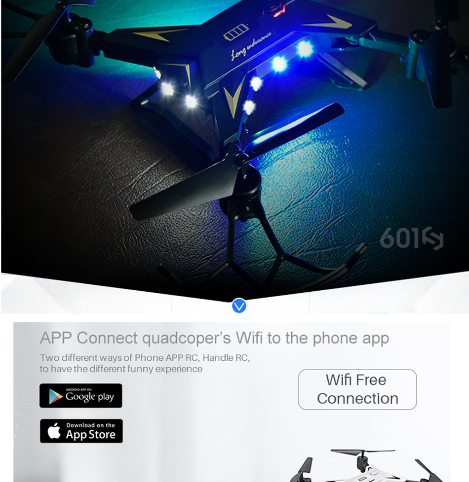 RC Helicopter KY601S Professional Drone with Camera HD 1080P WIFI FPV Quadcopter Drone Toys for Kids 15 Minutes Playing Time 8