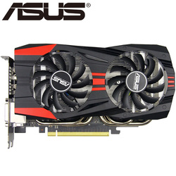 ASUS Video Graphics Card Original GTX 760 2GB 256Bit GDDR5 Video Cards for nVIDIA VGA Cards Geforce GTX760 Hdmi Dvi Used On Sale