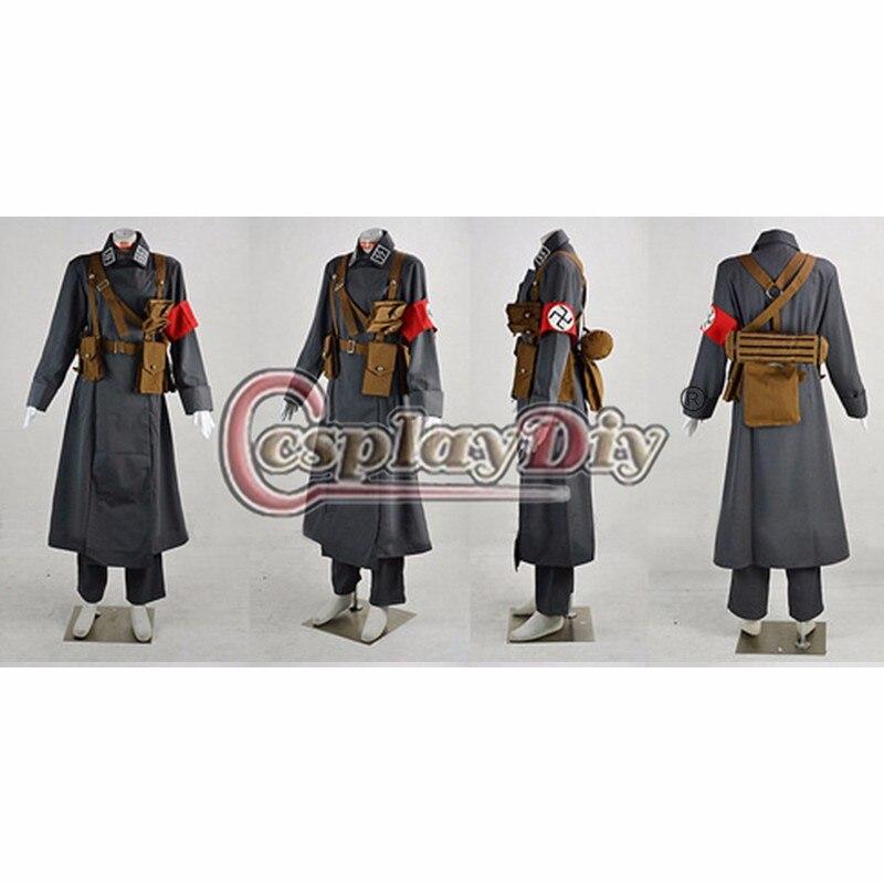 Hellsing Millenium Vampire soldado Cosplay traje adulto hombres Halloween  equipo por encargo en Disfraces anime hombre de La novedad y de uso  especial en ... 50bc70a6b174
