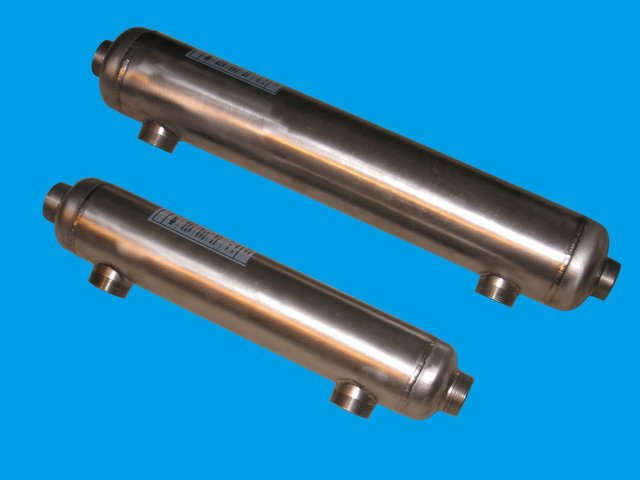 Free shipping 5 year warrantied Full Purity Titanium Pool Heat Exchanger SP-300Kti-S for salty pool solar or boiler pool heating