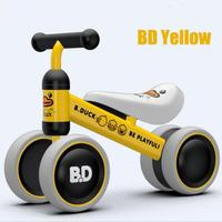 Hot Brand Child Balance Bikes Scooter Baby Walker Infant Scooter without Foot Pedal Driving Four Wheels Bike Gift for Kids Toys