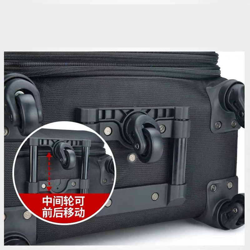 Hot!New Business 20/24/28 size Rolling Luggage bag with 5 wheels Men brand Travel Suitcase Women high quality Trolley travel bag