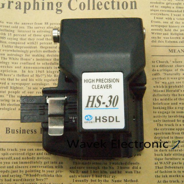 FTTH כלים HS 30 ביקוע סיב חותך גבוהה דיוק כבל חותך חותך עבור fusion כבלר