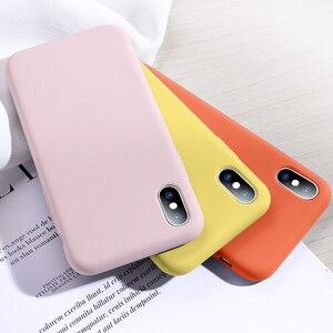 Image 2 - Мягкий силиконовый чехол SmartDevil для iphone 7, 8 Plus, X, XS, 11 Pro, Max, защита экрана из закаленного стекла, полностью покрытый чехол в подарок