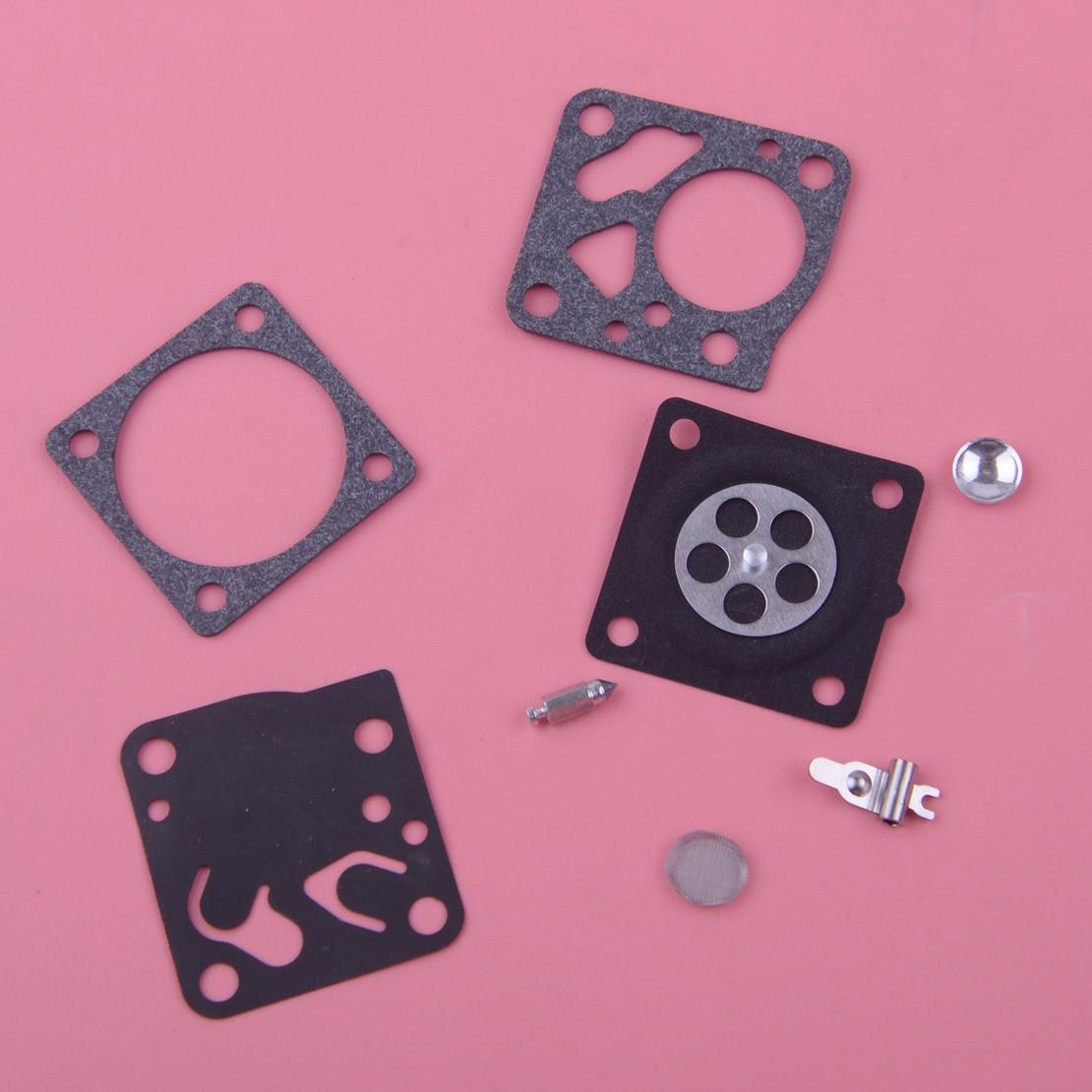 цена на LETAOSK Carburetor Repair Kit Carb Rebuild Tool Gasket Set Fit for Tecumseh TC200 TC300 Tillotson RK21 HU 632933