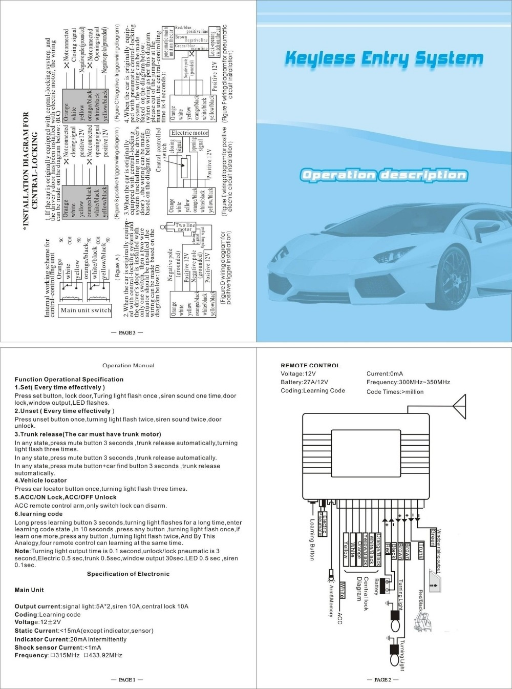 remote central locking kit wiring diagram wiring library federal pa 300 wiring diagram 12v car remote [ 1000 x 1345 Pixel ]
