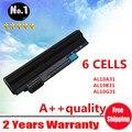 Черный 6 клетки лэптоп аккумулятор для ACER Aspire один D255 D260 756 V5-171 725 AL12X32 AL12A31 AL12B31