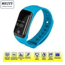 X7 Водонепроницаемый сердечный ритм Health Monitor спальный фитнес-трекер часы напоминание Bluetooth Спорт Шагомер Смарт-браслет
