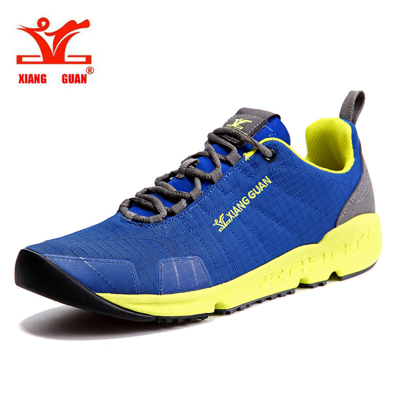 XIANGGUAN Summer Man Running Shoes Sport Sneakers Canvas Outdoor Walking Sneakers Athletic Trainers Breathable Damping male shoe  2017 mens running shoes breathable male outdoor walking sport shoes new man athletic sport sneakers for adults