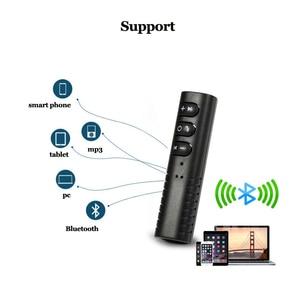 Image 3 - Bluetooth AUX 3.5mm שקע Bluetooth מקלט דיבורית שיחת Bluetooth מתאם לרכב משדר אוטומטי מוסיקה מקלט